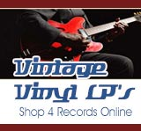 Vintage Vinyl - LP Record Album Sales