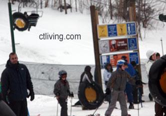 connecticut snow tubing