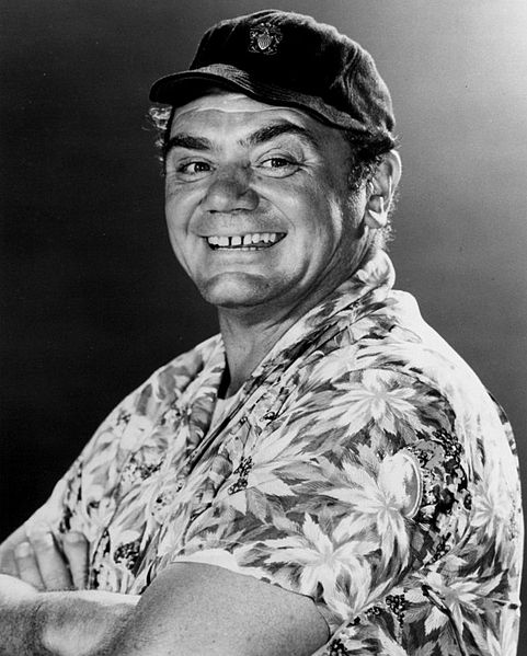 Born in Connecticut - Ernest Borgnine lived in Hamden, North Haven and New Haven.