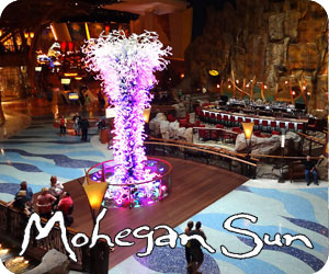 casino vacations at Mohegan Sun